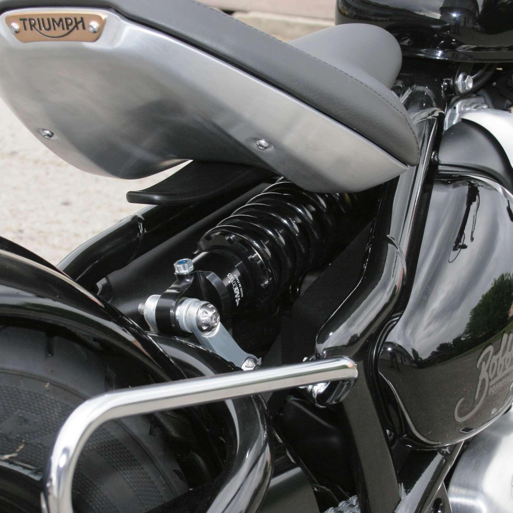 Matris Mono Shock for Triumph Bobber   BellaCorse com