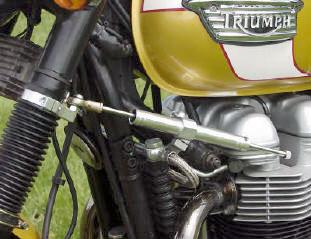 Steering Damper Kit For Triumph Bonneville Bellacorsecom