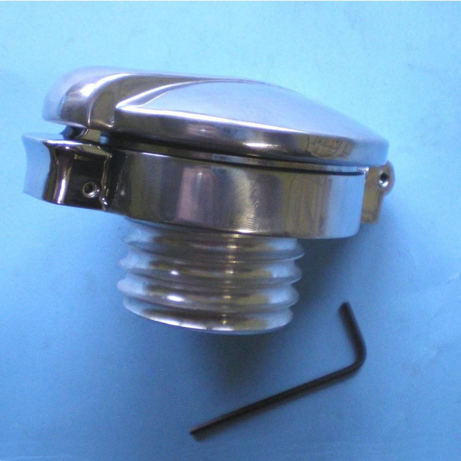 Monza style fuel cap for the Triumph Bonneville, Thruxton, Scrambler range of motorcycles