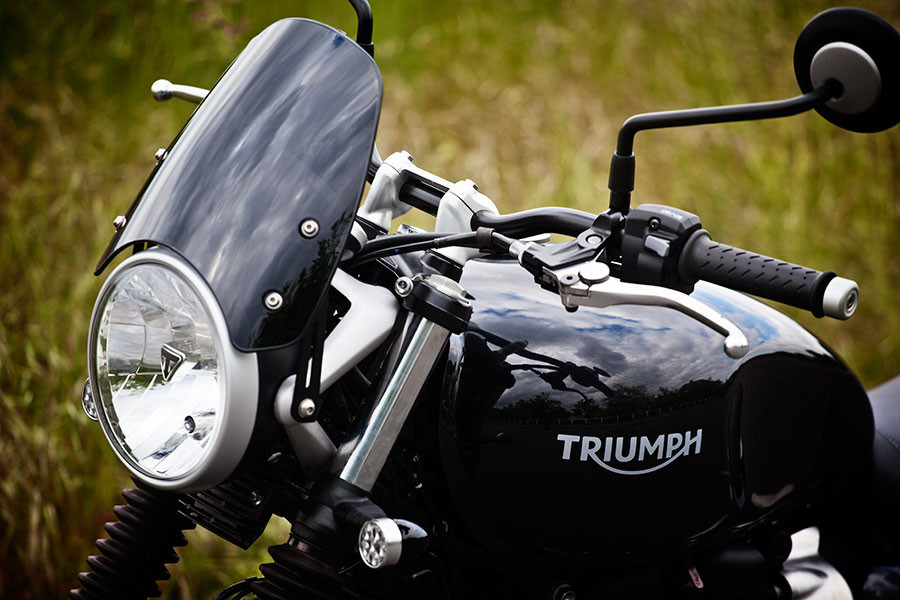 Dart Flyscreen For Triumph 900 Street Twin Bellacorsecom