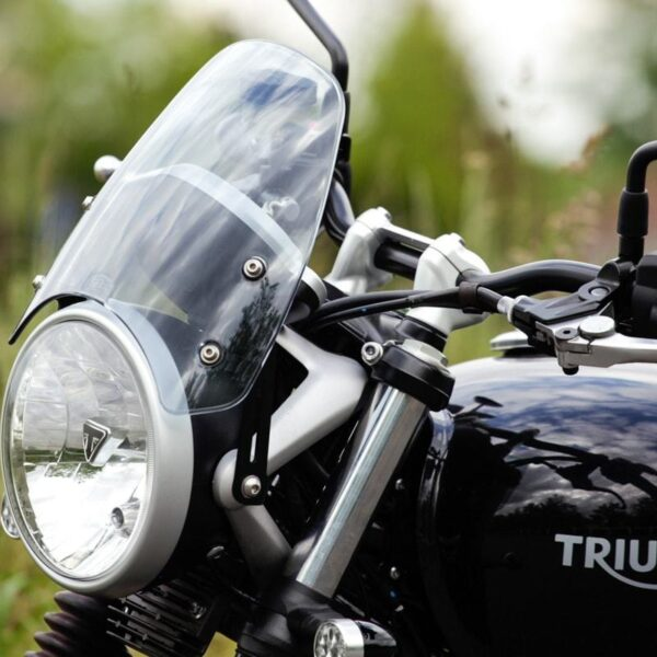 Triumph Street Twin Light Tinted Fly Screen