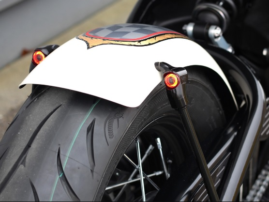 Wunderkind Rear Fender with LED Indicators