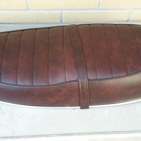 BellaCorse Brown Seat for Triumph Bonneville