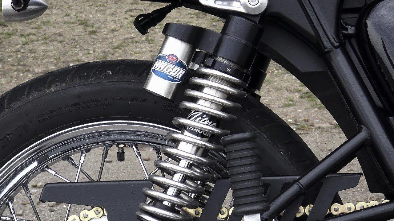 Hagon Nitro Piggyback Shocks For Triumph Twins Bellacorsecom