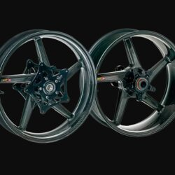 BST Carbon Fiber Wheels for Triumph Thruxton-R