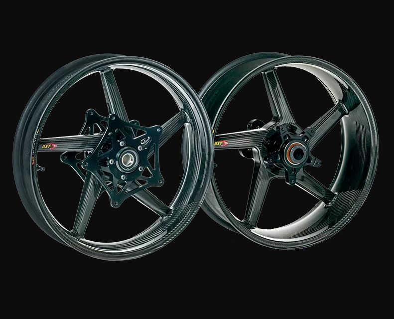 Carbon Fiber Wheels >> Bst Carbon Fiber Wheels For Thruxton 1200