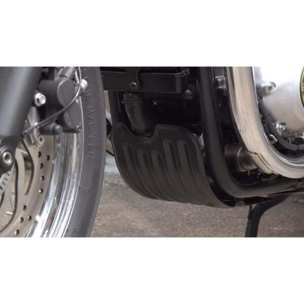 Skid plate, bash pan for Triumph water-cooled 900 & 1200 twins