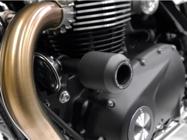 Triumph T120 Frame Sliders Crash Protection