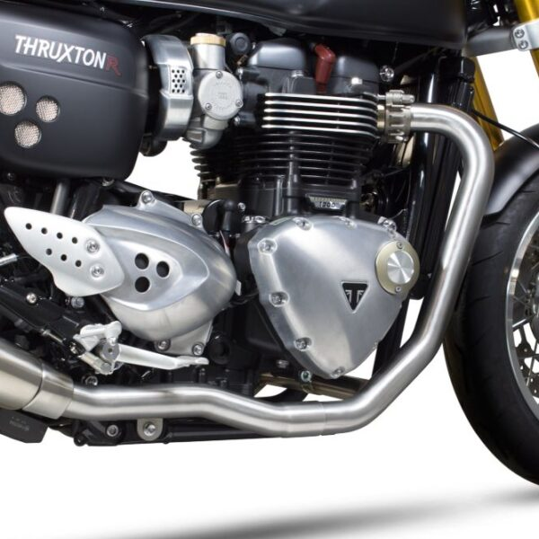 Scorpio SS Header Pipes for Thruxton 1200
