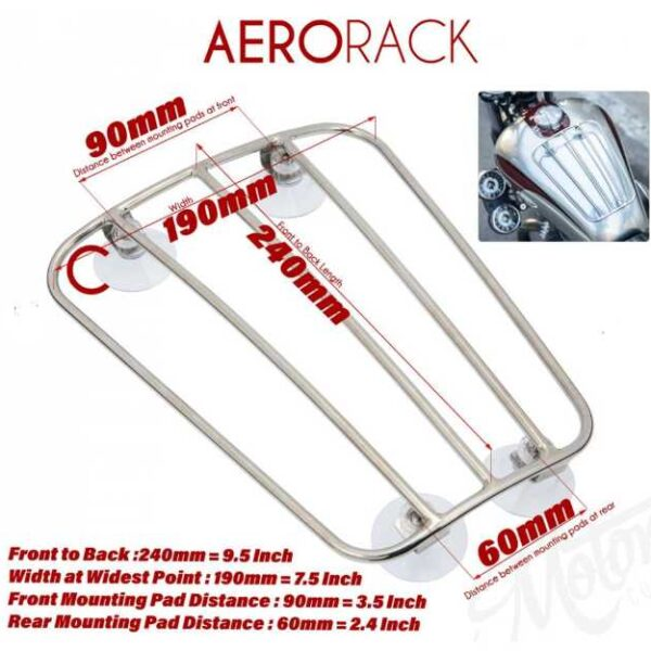 Stick-on-tank-rack