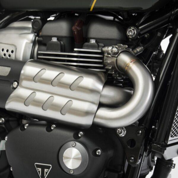 Zard H-pipe Triumph Scrambler 1200